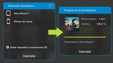 Photosync disponible para iOS y para Android