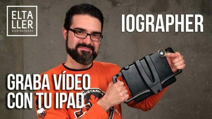 iOgrapher soporte de trípode para iPad - graba video con iPad en esta funda multimedia para iPad
