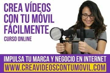 Formación Online para aprender a hacer vídeos con tu móvil