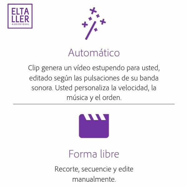 Edita vídeo gratis sin marca de agua en Android y en iOS de forma automática o en modo libre