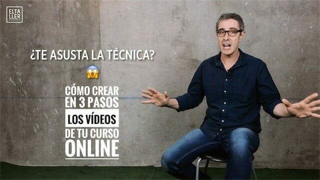 Cómo hacer cursos online con vídeos en solo 3 pasos