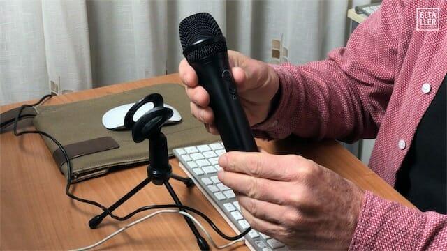 microfono para grabar voces iRig Mic HD2