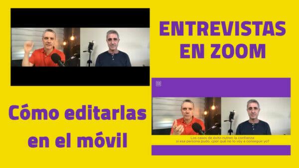 Entrevistas en Zoom