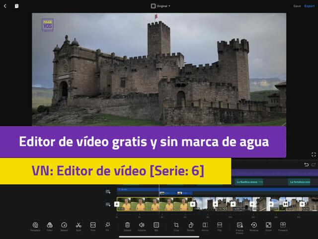 editor de video gratis sin marca de agua