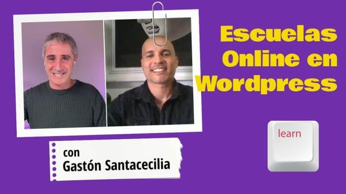 escuelas online en wordpress